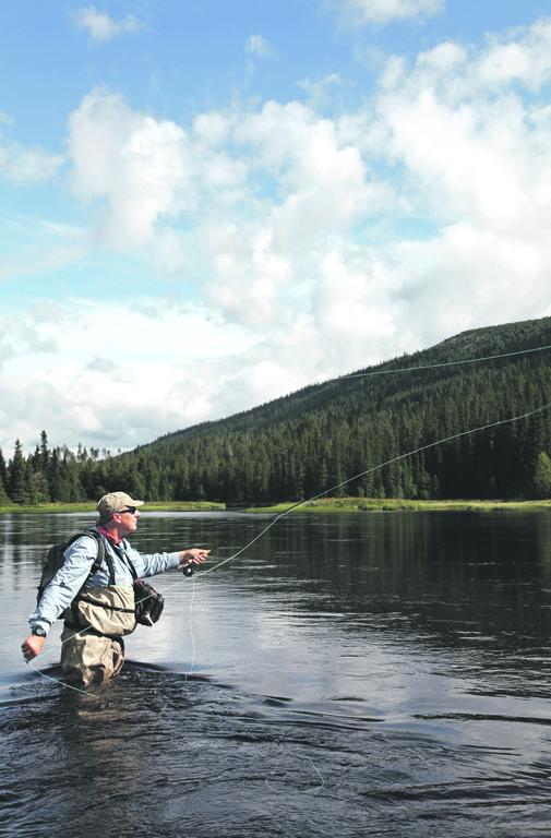 Tierisches Oberland | Fliegenfischer