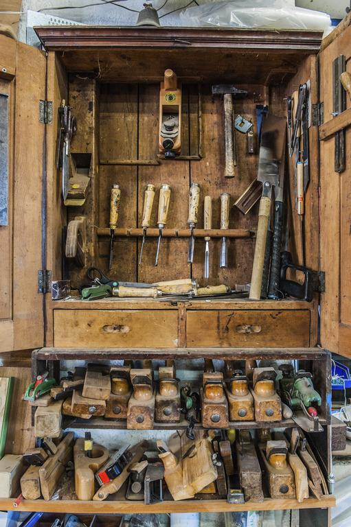 Bootsbau: Werkzeugschrank