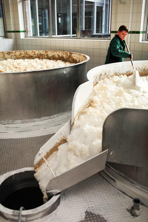 Ayinger Brauerei: Gärbottich