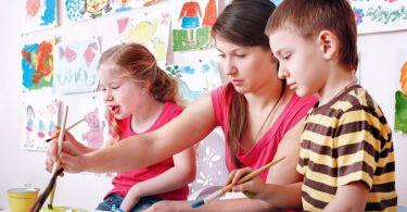 Christina Bergmann Stiftung | Malende Kinder