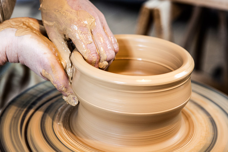 Keramikerin Corinna Post | Ein Kunstwerk entsteht