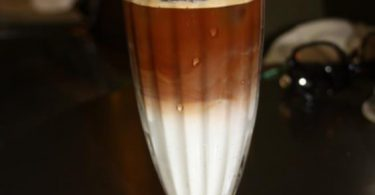 Rezept   Eiskaffee á la Hirschkuss