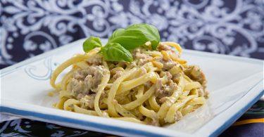 Pastarezept | Linguine mit toskanischer Schweinswurst