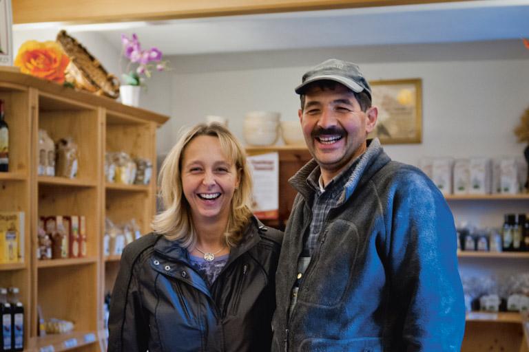 Off-Mühle: Veronika und Martin Sommer