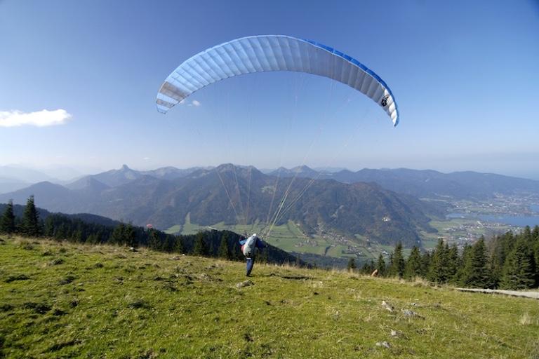 Paragliding am Wallberg