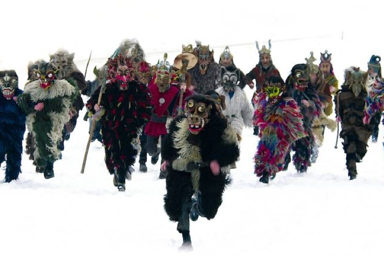 So sehen sie aus, die schaurigen Gestalten, die ab dem 29. November durch Kirchseeon ziehen