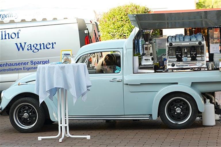 Wochenmärkte Oberland | Espresso-Wagen